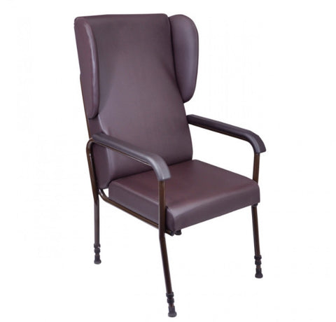 Adjustable-High-Back-Chair Without Wings