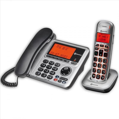BigTel 1480 Corded Telephone & Portable Phone