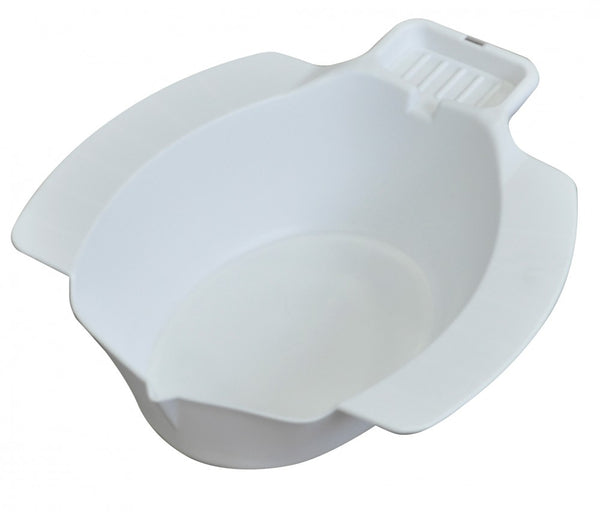 The image shows the portable bidet bowl