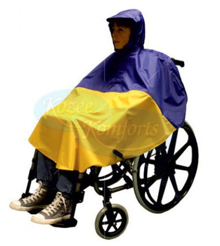 Child's-Wheelchair-Poncho Small