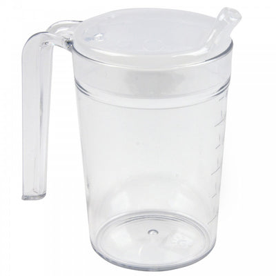 Clear-Polycarbonate-Mug With two lids