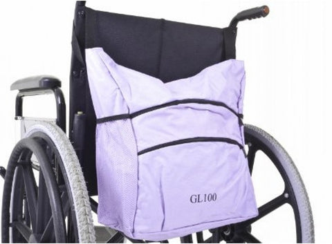 Coloured-Wheelchair-Carry-Bag Red