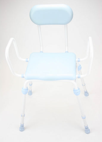 Compact-Easy-Perching-Stool-With-Arms-And-Padded-Back Compact Easy Perching Stool With Arms And Padded Back