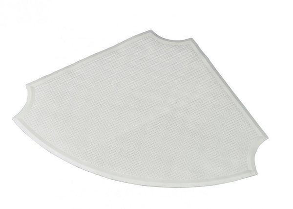 Corner-Shower-Mat White