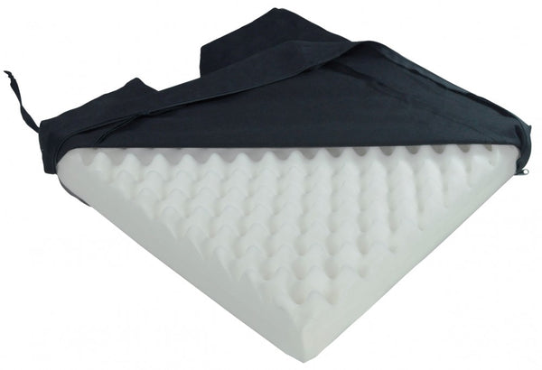 the image shows the deluxe pressure relief orthopaedic coccyx cushion