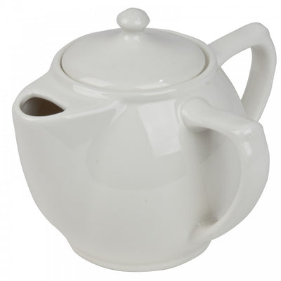 Dignity-Two-Handled-Teapot White