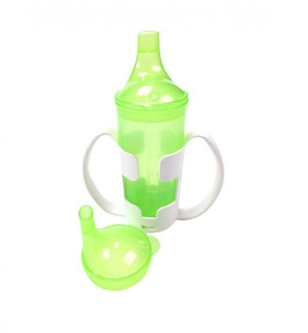 Drinking-Cup-with-Cup-Holder Green