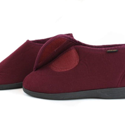 Dunlop Albert Gents Bootie Slipper Size 6 In Burgundy