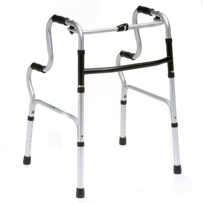 The image shows the easy rise walking zimmer frame