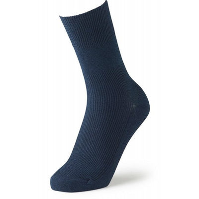 Feet Retreat Lightweight Seamless Socks Navy | Oedema Socks