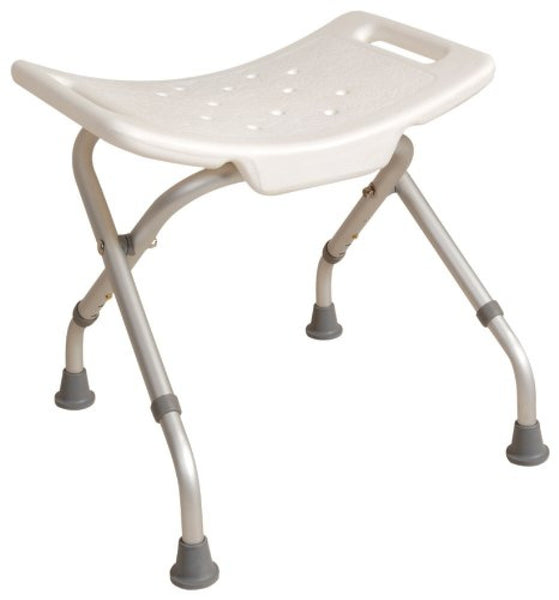 image shows the Economy Foldable Shower Stool