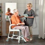 Etac Clean Shower Commode Chair - Green