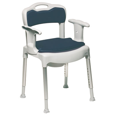 The image shows the Etac Swift Commode Chair