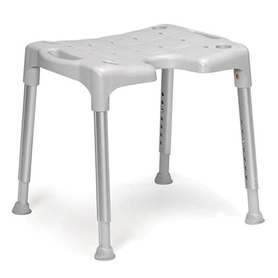 The image shows an Etac Swift Shower Stool