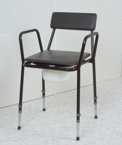 Dovedale Adjustable Height Commode Chair