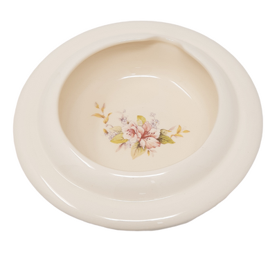 Secure Grip Full Lipped Bowl with Cut Out | Taffeta Pattern