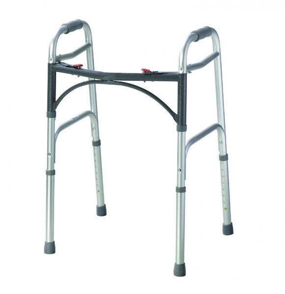 Folding-walking-zimmer-frame-without-wheels One size