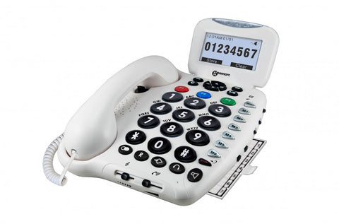 Geemarc-Home-Phone-With-Answer-Machine One size