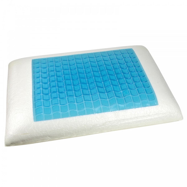 This cooling gel pillow is answer to a