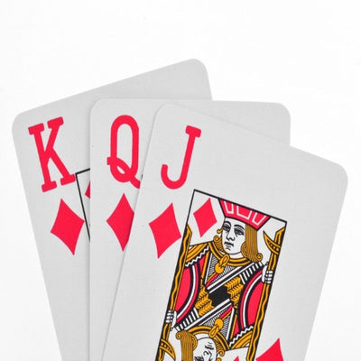 Giant-Print-Playing-Cards Red Backs