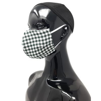 Washable, Reusable Face Mask | Gingham Print