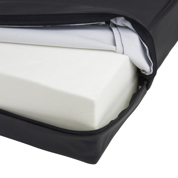 the image shows a close up of the harley super v cushion