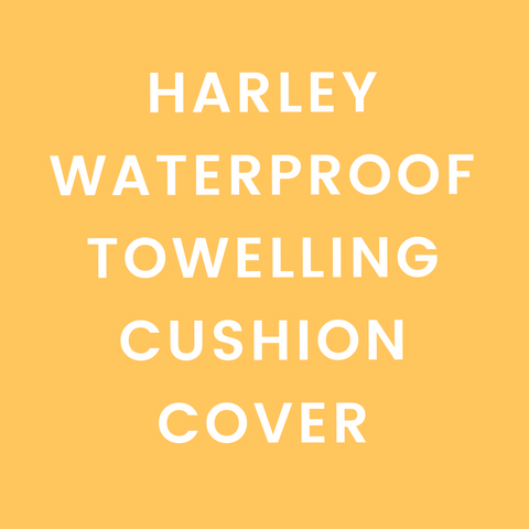 Harley Waterproof Towelling Cushion Cover