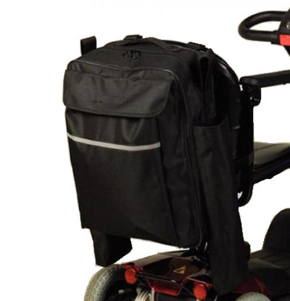 The image shows the Homecraft Wheelchair Crutch/Walking Stick Bag for wheelchairs and mobility scooters