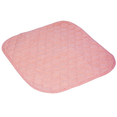 The image shows the Kylie Chair Pad in pink