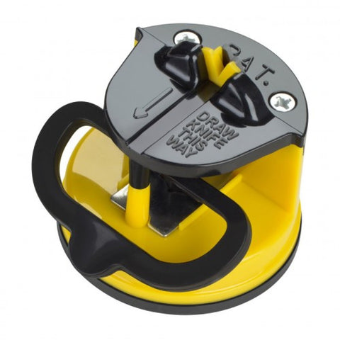 Knife-Sharpener-with-Suction-Pad Yellow/Black