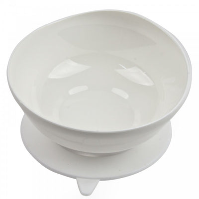 the image shows the large scoop bowl in white