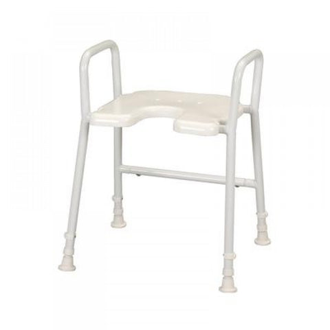 Lightweight-Shower-Stool-with-Armrests Lightweight Shower Stool with Armrests