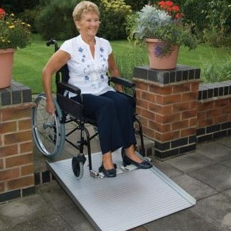 Roll-Up Portable Ramp
