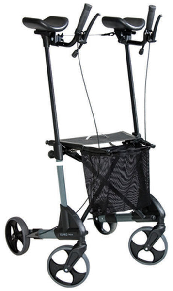 the image shows the troja forearm rollator
