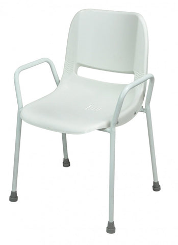 Milton-Stackable-Shower-Chair Fixed Height