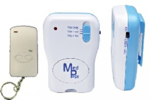 MPP-SET-Fob-Transmitter-With-Alarm-Pager Kit with pager and transmitter