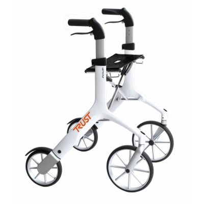 Lets Fly Rollator in White