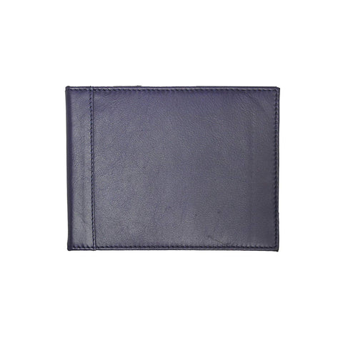 Leather Blue Badge & Timer Wallet Holder