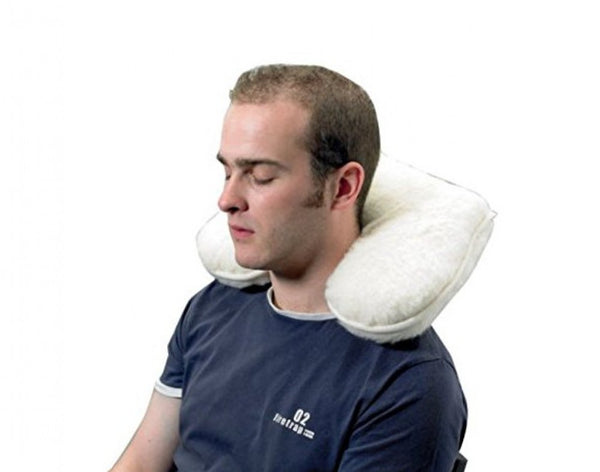 Neck-Support-Wool-Pile-Cushion Neck Support Wool Pile Cushion