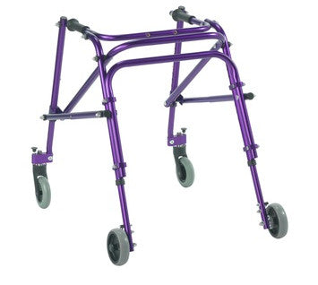 The image shows the medium nimbo posterior posture walker in purple