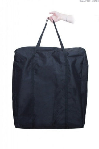 Optional-bag-for-Buckingham-fold-easy-toilet-frame Black