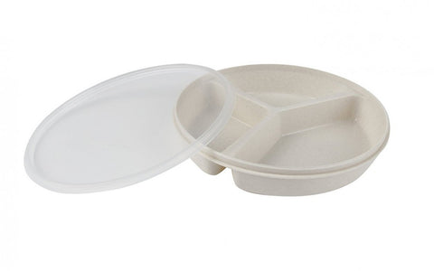 Partitioned-Scoop-Dish-with-Lid Partitioned Scoop Dish with Lid
