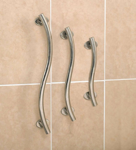 Polished Stainless Steel Chrome Grab Rails