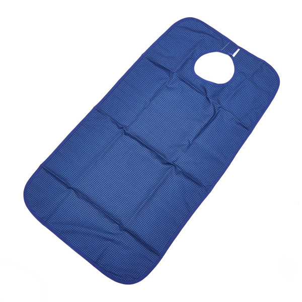 Polyester-Wipeclean-Bib Blue