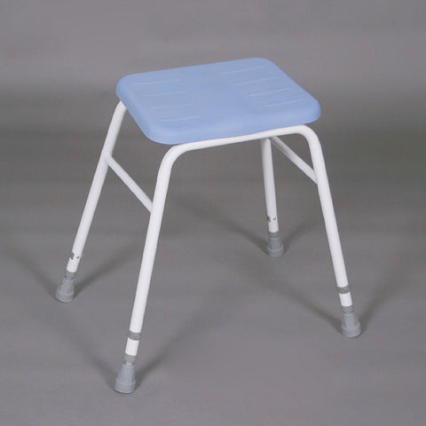 Perching-Stool-with-PU-seat With arms and padded back