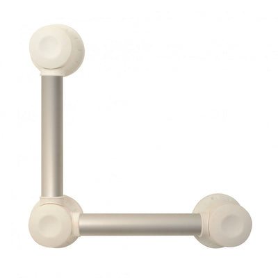 image shows 20 x 60cm Prima aluminium pivot grab bar