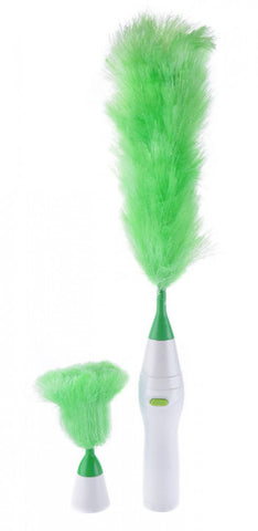 Rotating-Duster---White-&-Green One size