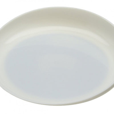 the image shows the round scoop dish in ivory