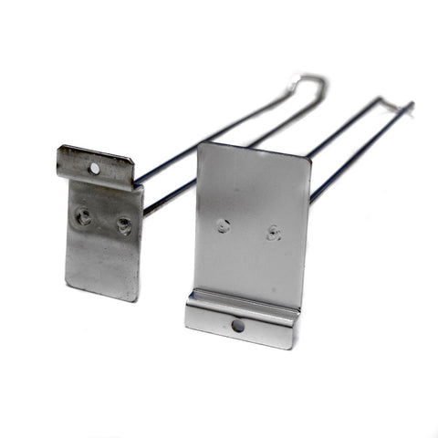 "11.5"" Double Display Hook Arms Pack of 7 Ideal For Shops (fastenings may vary)"
