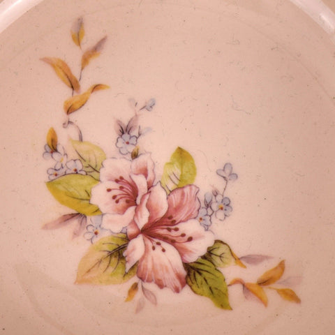 Blossom Patterned Bowl with Spout